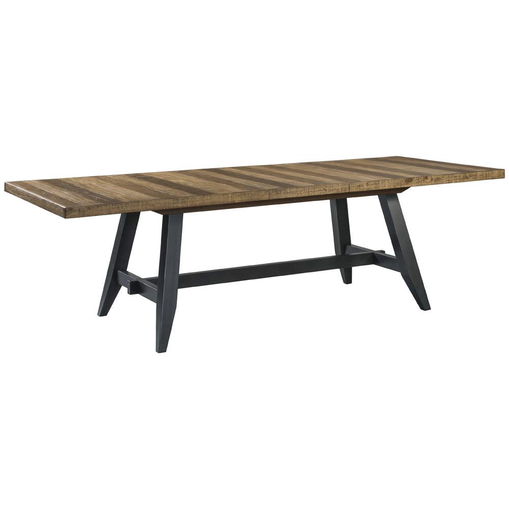 Urban Rustic Trestle Dining Table Intercon Furniture
