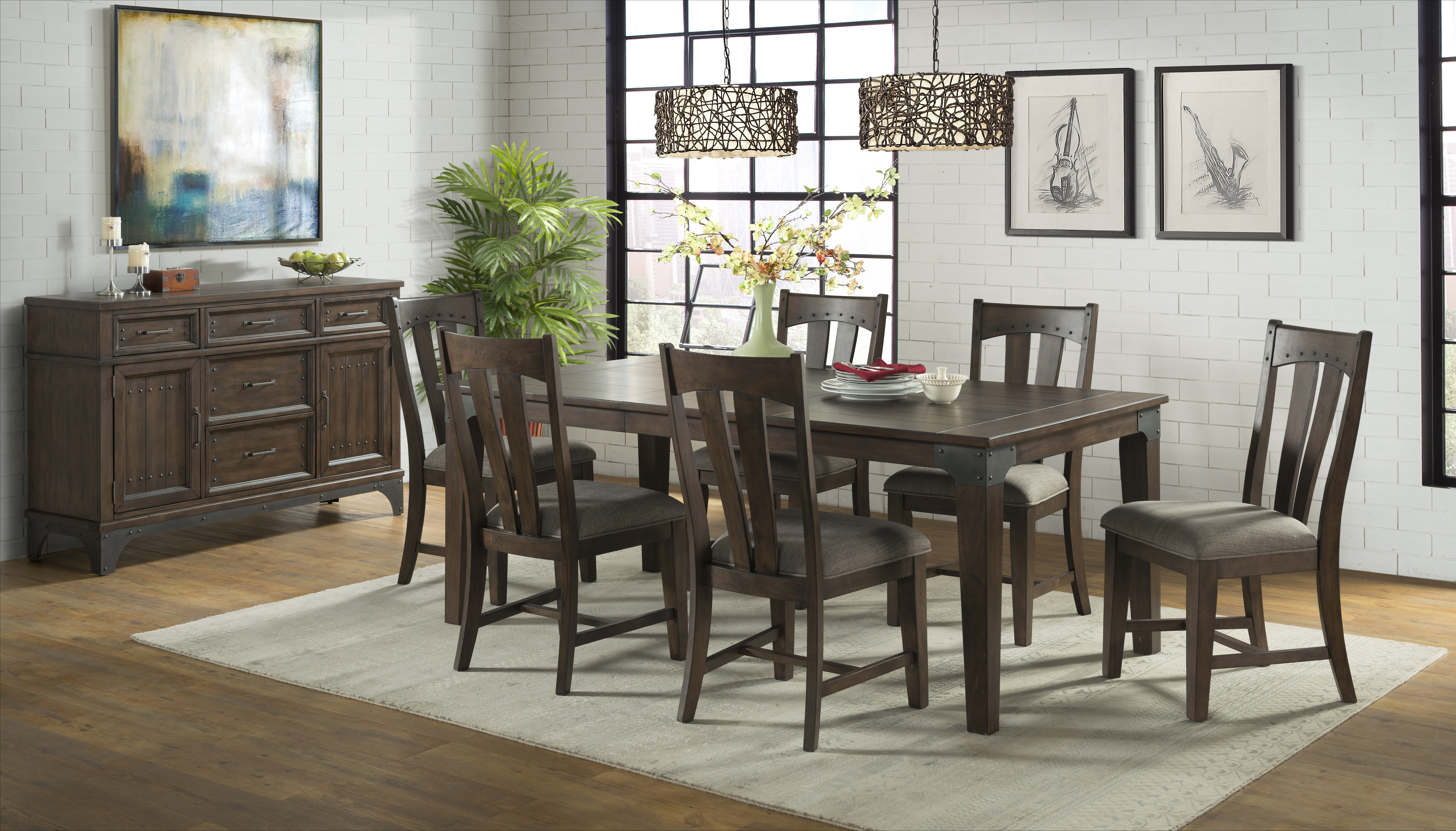 Whiskey River Dining Table Intercon Furniture