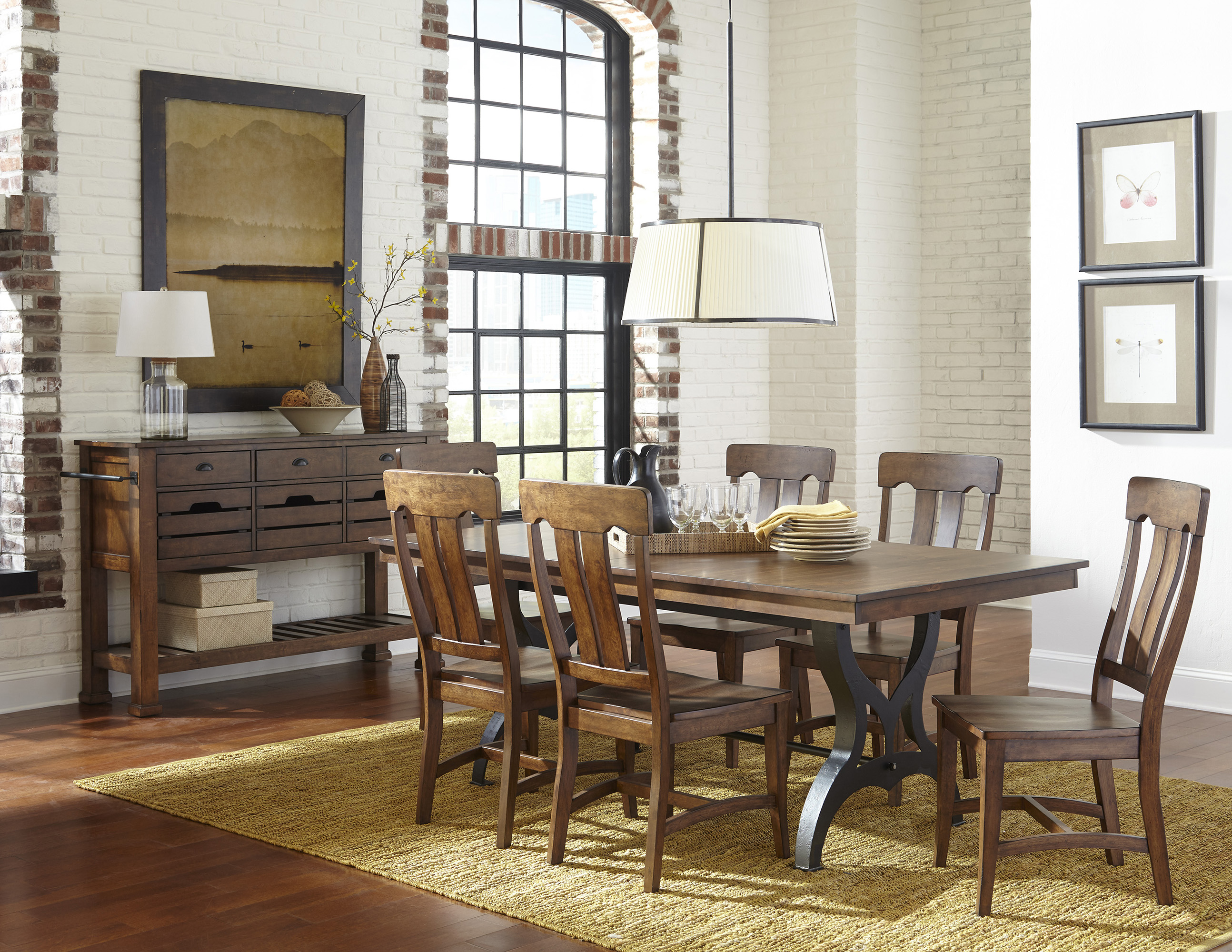 District Dining Table Intercon Furniture